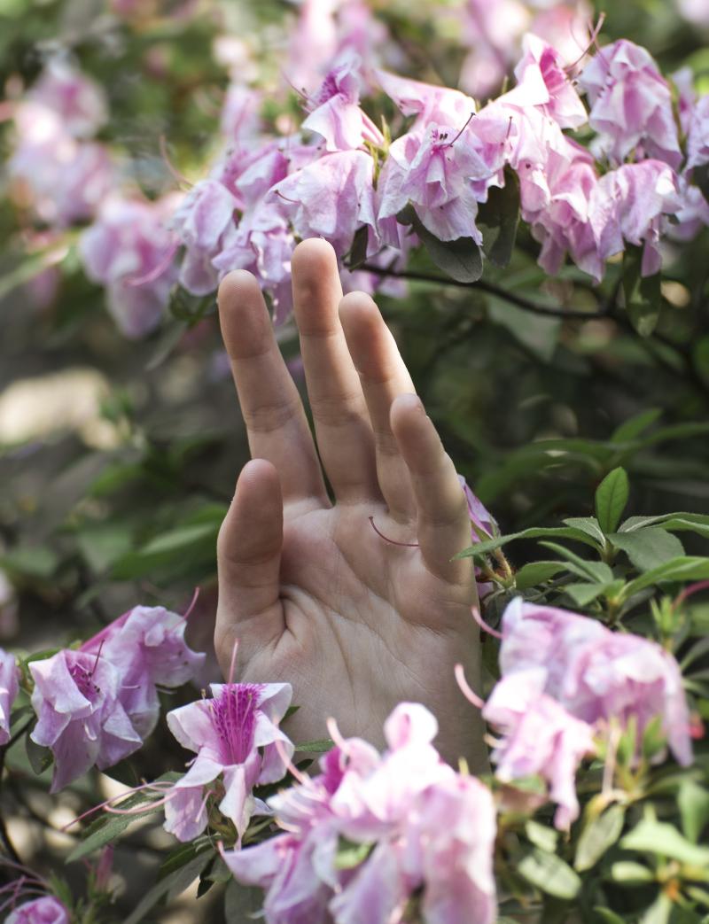 Flower-hand